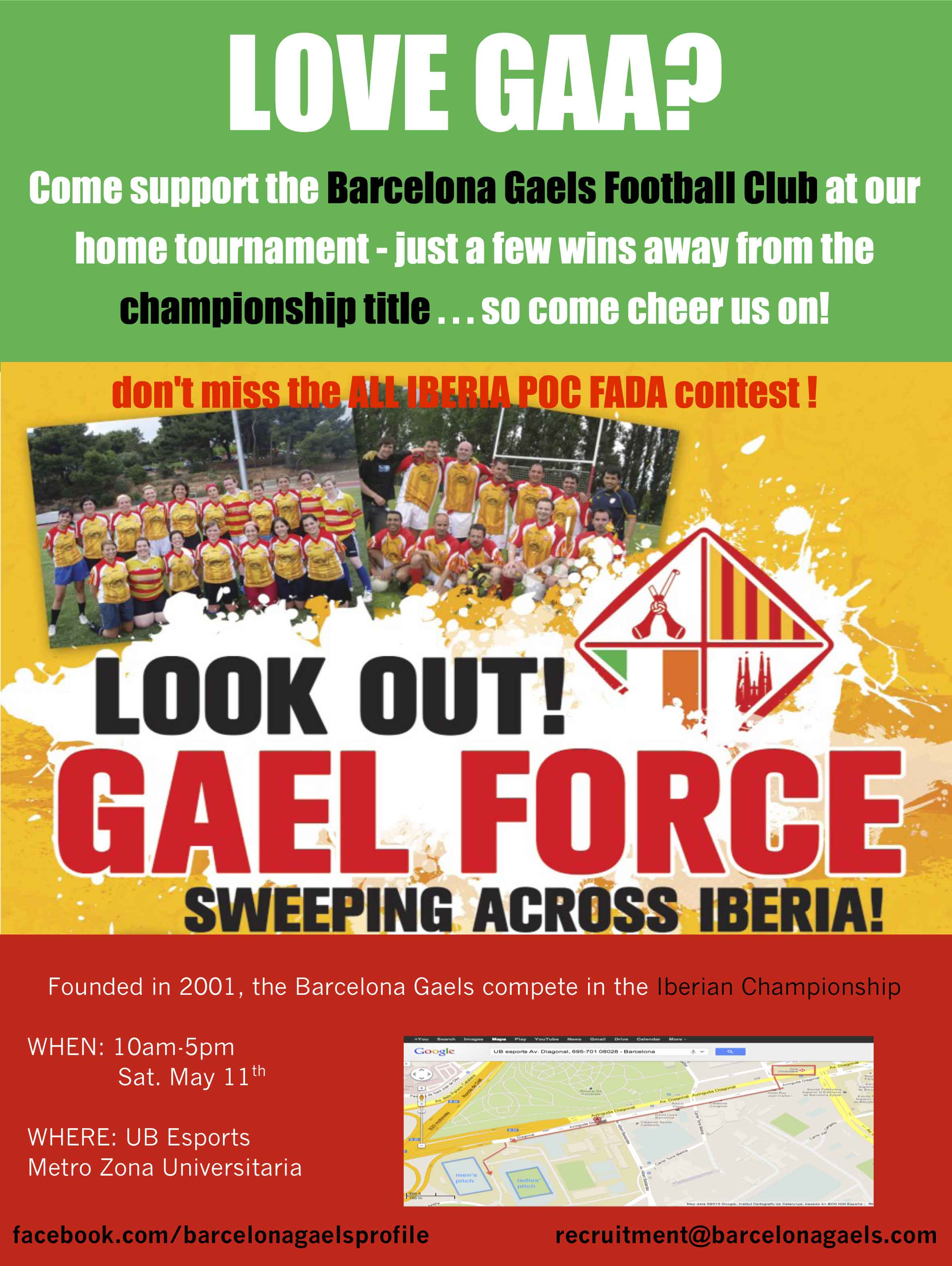b9db7ff1845 Barcelona Gaels – Irish football champions